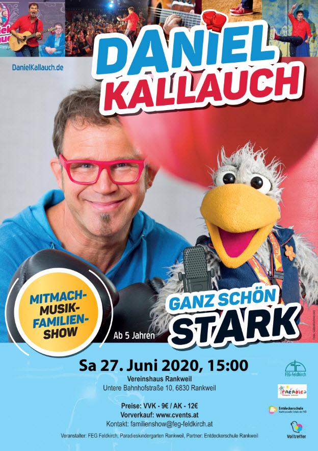 Daniel Kallauch Konzert Flyer